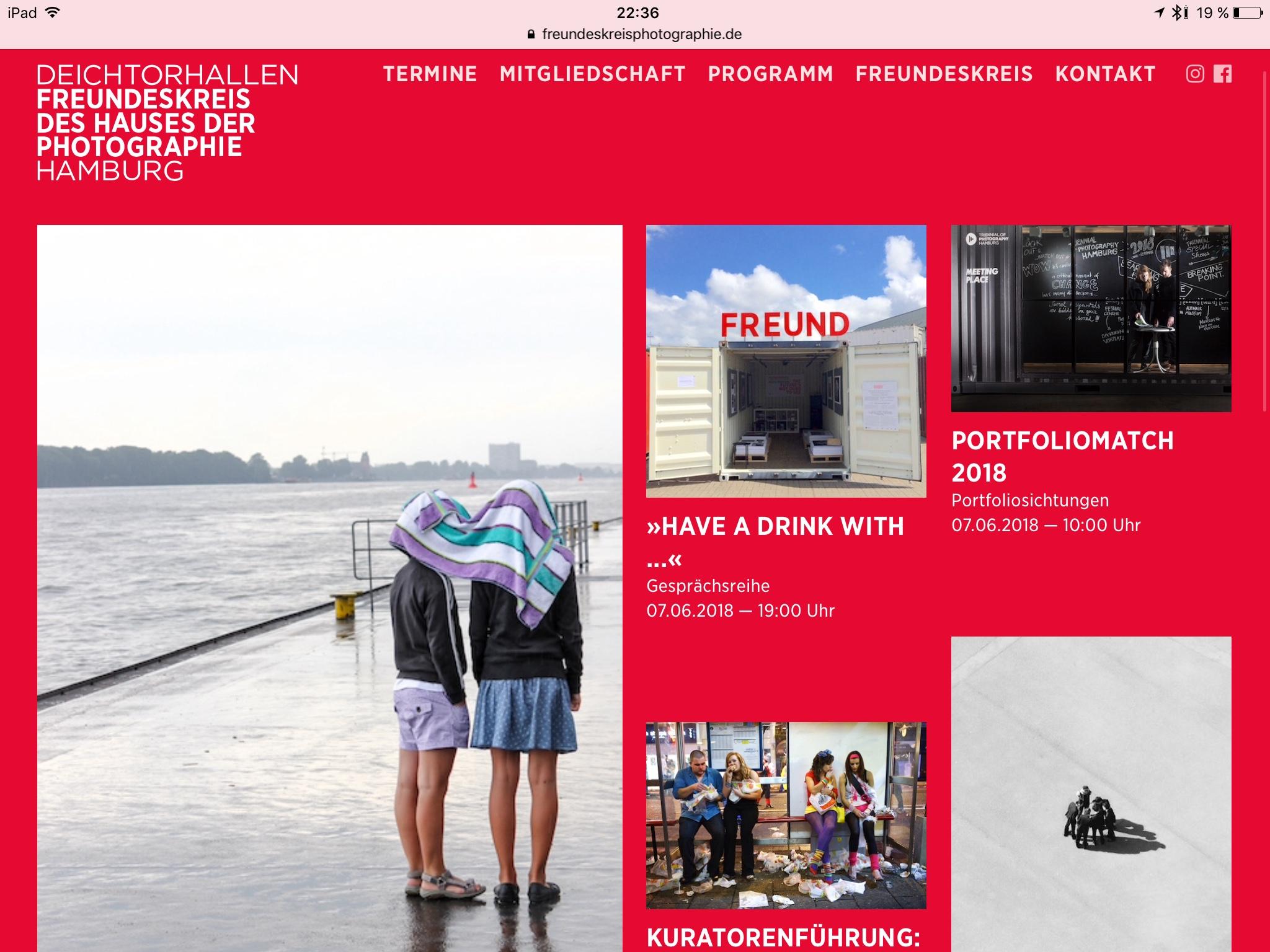 Freundeskreis des Hauses der Photographie – Homepage