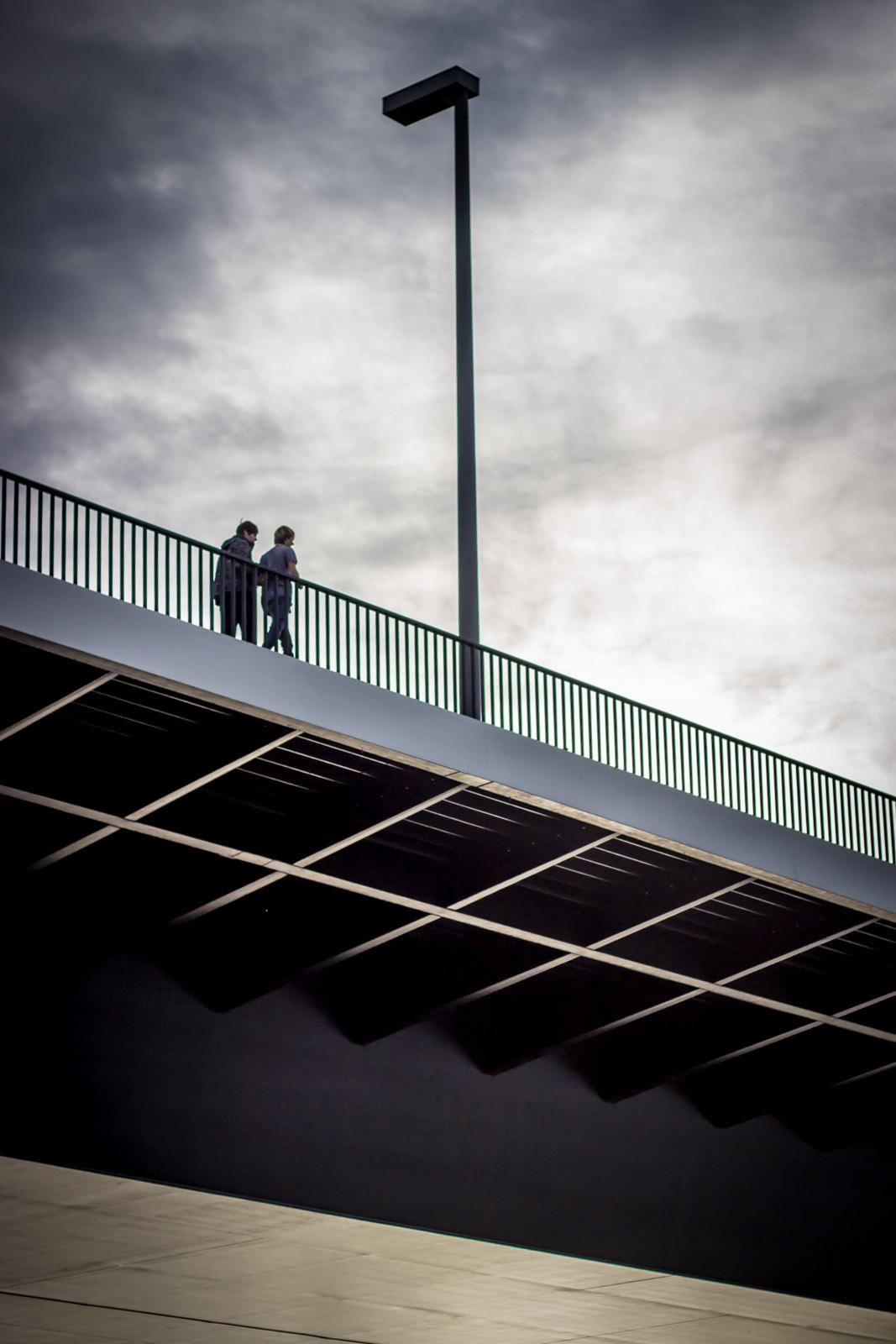 DÜSSELDORF, Oberkasseler Brücke